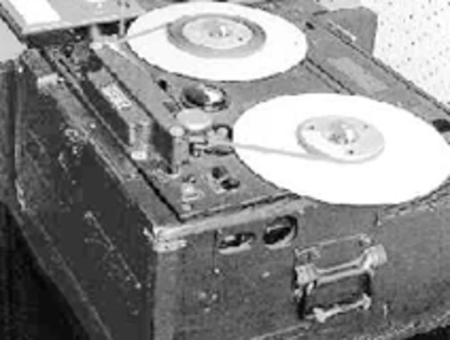 AEG/Telefunken exhibits the first magnetic tape recorder in Germany