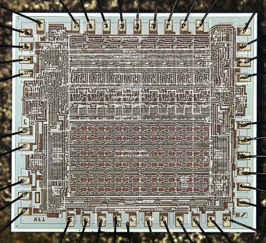 1969 - The first Microprocessor (computer on a chip) is introduced by Intel