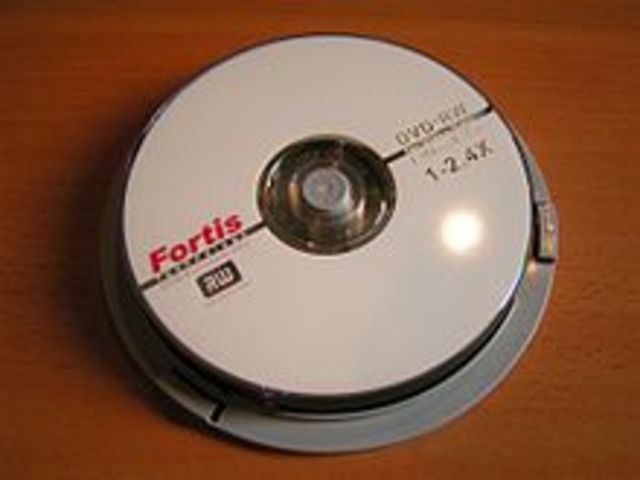Reminiscent of VHS/Betamax, an alternate standard for consumer DVD writable disks           is introduced to thwart piracy called DVD+RW