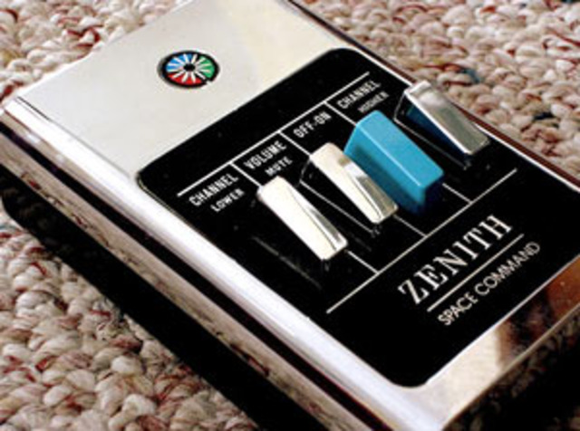 """Zenith introduces the 'Lazy boy"""" television remote"""