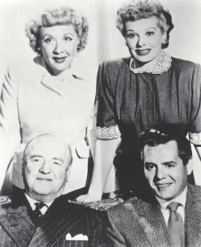 "The first episode of ""I Love Lucy"" aired"