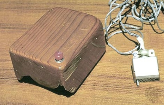 Douglas C engelbart Demostrates the first computer mouse