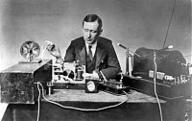 Guglielmo Marconi is granted his first British patent for wireless telegraphy.