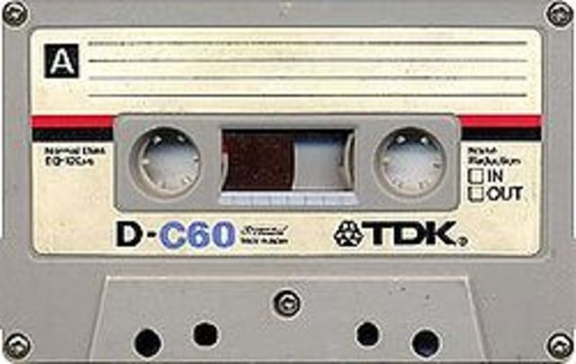 Compact stereo tape cassettes and players are developed by Phillips