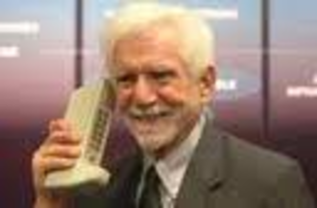 Martin Cooper of Motorola conceived the first cellular phone system
