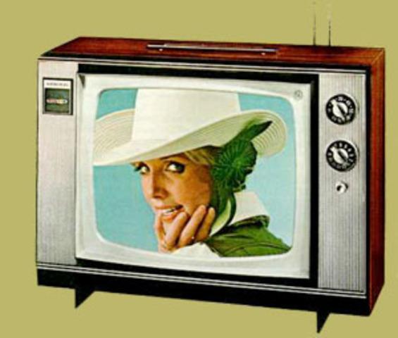 First color tv program