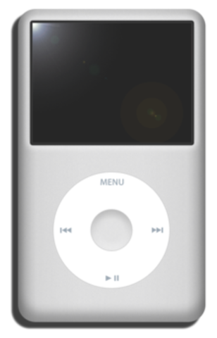 Apple Computer introduces the iPod portable music player
