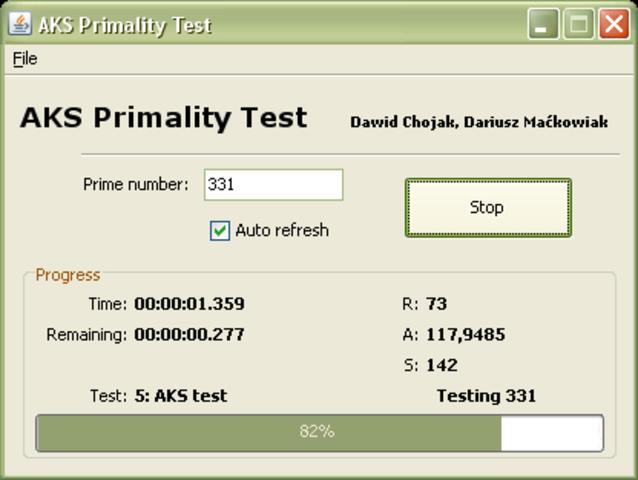 AKS Primality Test