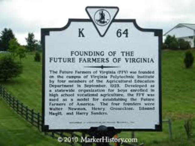 Future Farners of Virgina