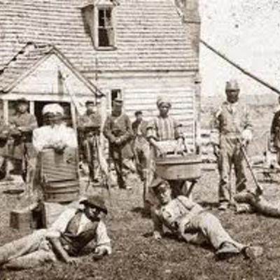 The slavery period timeline