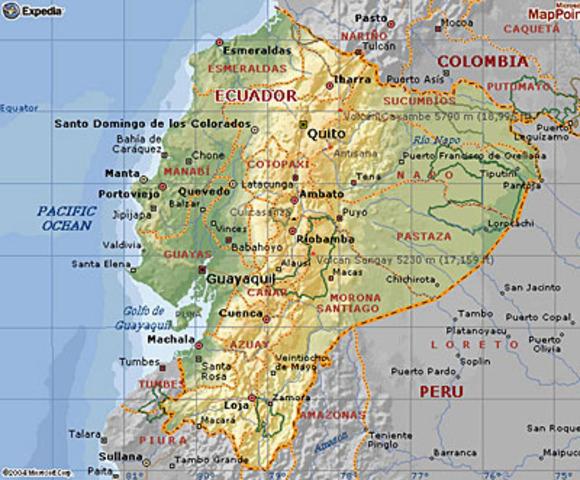 Separación de Ecuador