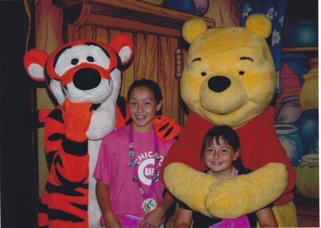 My first time at Walt Disney World!