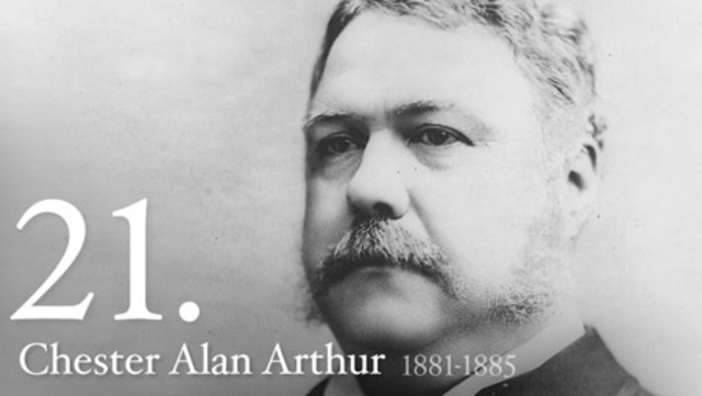 Chester Arthur Attends College