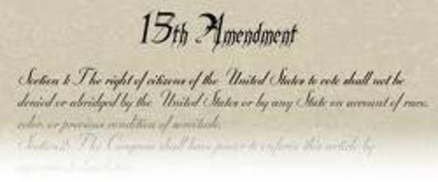 The Fiftteenth Amendment