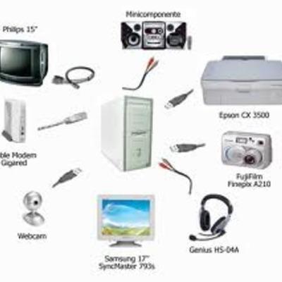 La evolucion de los perifericos timeline