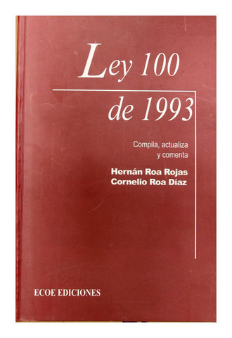 Expedisión de la ley 100 de 1993