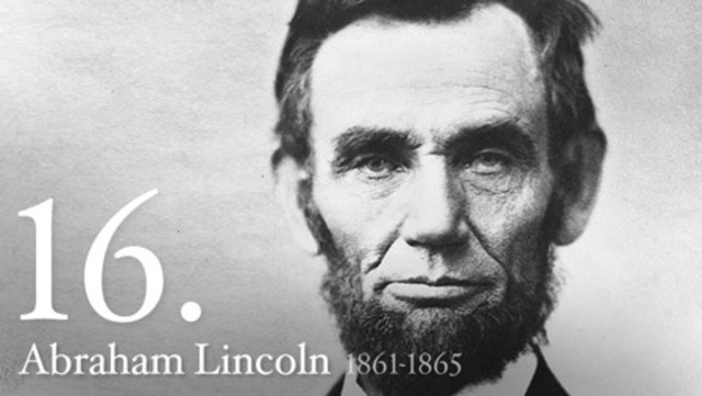 Abraham Lincoln Lives in a Log Cabin