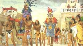 Aztecs, Karankawa and Navajo timeline