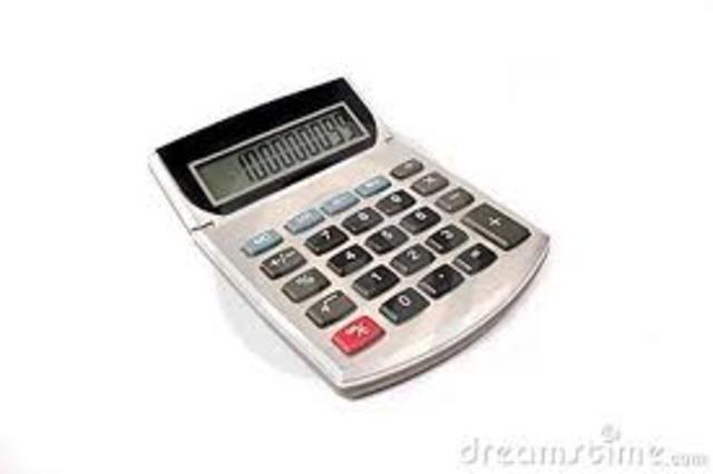 First calculator encounterd