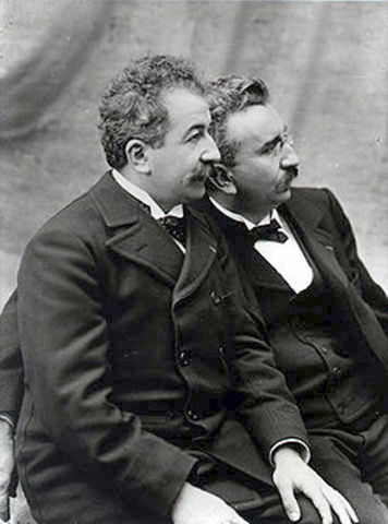 The Lumiere Brothers were born: Auguste Lumiere (October 19, 1862 - April 10, 1954) and Louis Lumiere (October 5, 1864 - June 6, 1948)