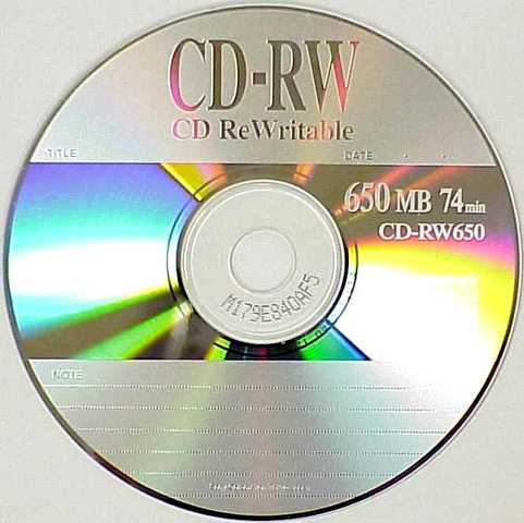 CD-RW Drives and Media