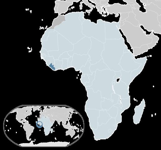Liberia established