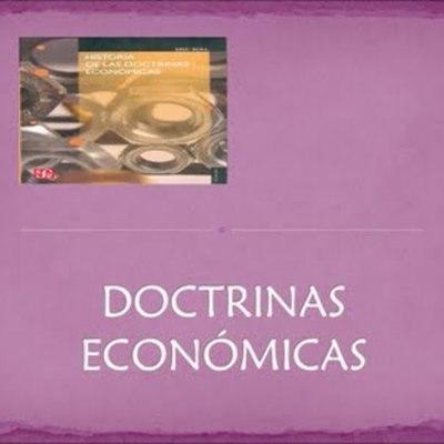 DOCTRINAS ECONOMICAS timeline