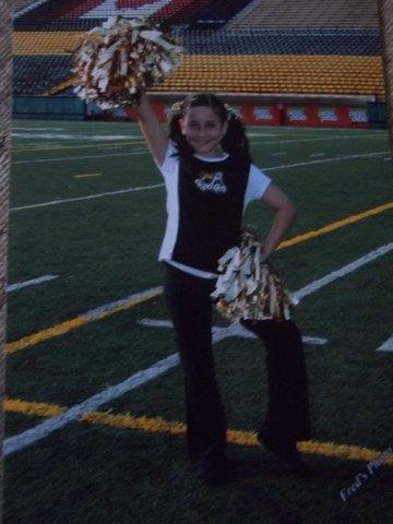 Hamilton Tigercats Cheerleader