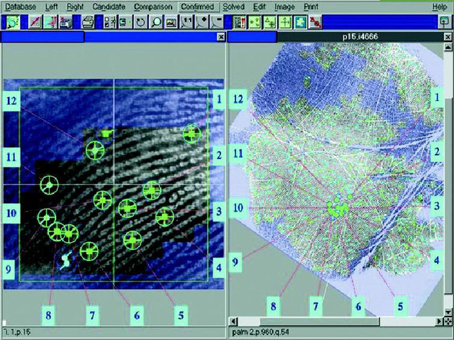 AFIS developed by FBI, fully automated in 1996