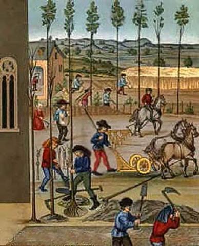 se establecen las monarquías y el sistema feudal.