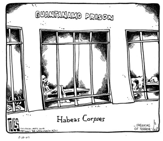hábeas corpus.