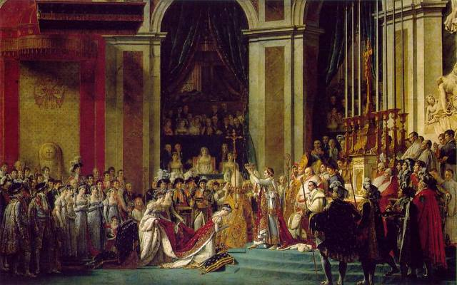 The Coronation of an Emperor -Napoleon