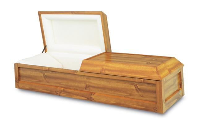 My grandpa died.