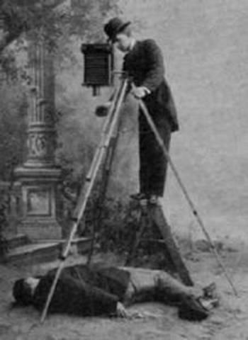 Crime scene photography developed
