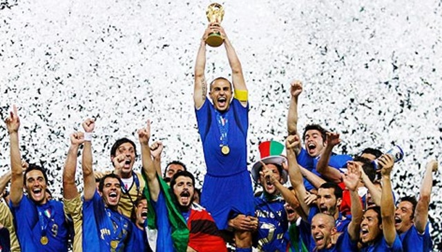 Italy won world cup in pentaly shootout