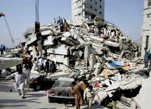 eathquake in pakistan