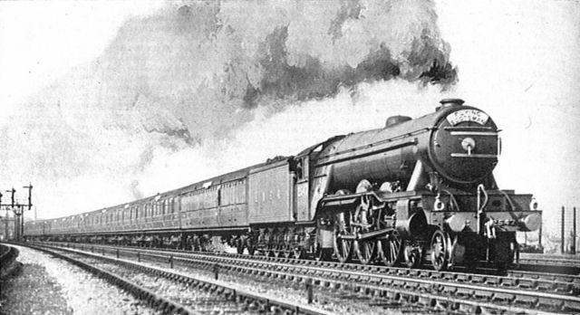 The first British express locomotive