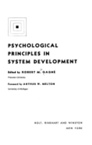 Psychological Principles in System Development