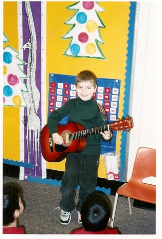 The Day I Played Guitar In Front of the Whole School