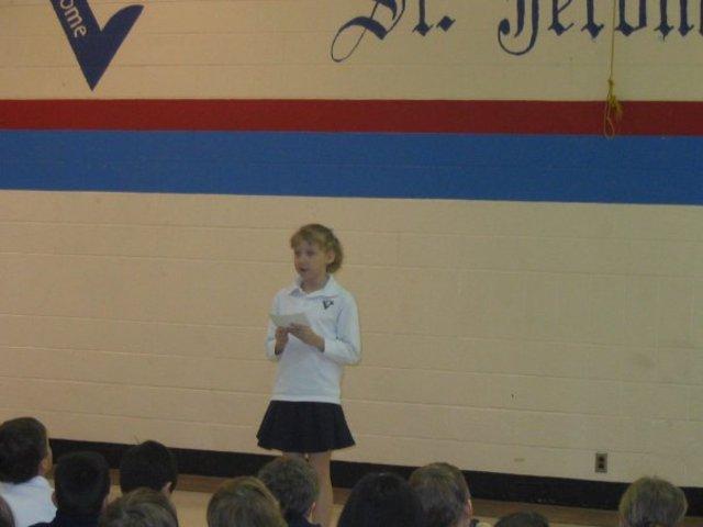 My First Public Speaking