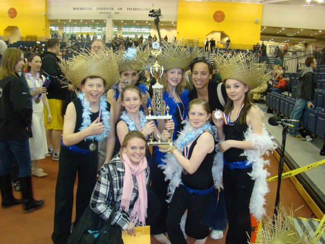 My First Colourguard Championships