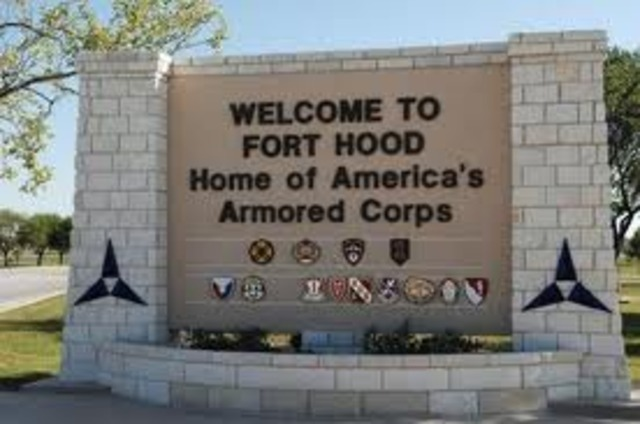 Texas military base attacked