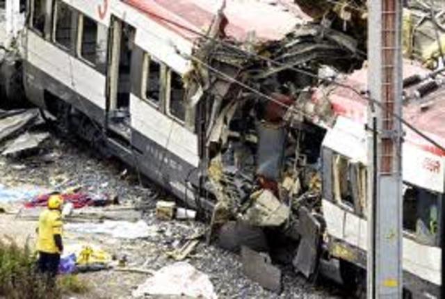 Madrid, Spain train bombing