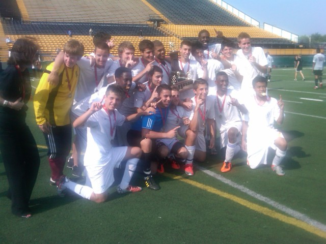 STM Junior Soccer Champions