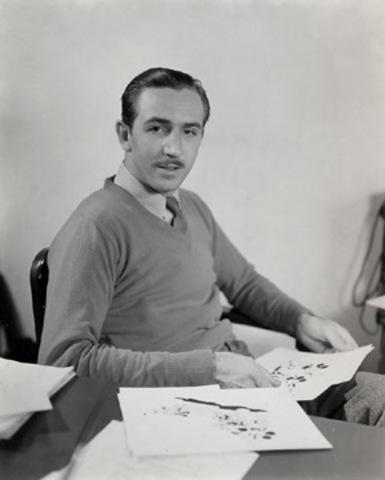 The world most famous animator Walt Disney