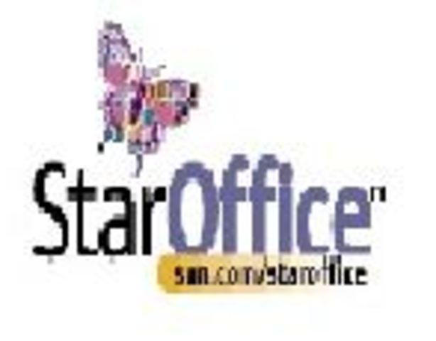 Se empieza a escribir StarOffice.
