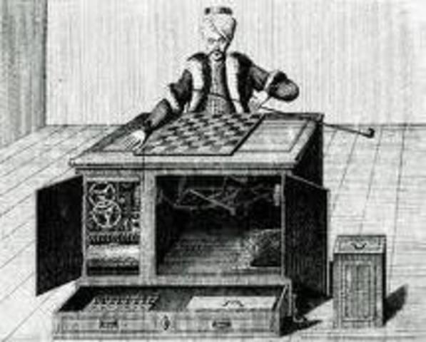 Jugador De Ajedrz Automata (El Turco)