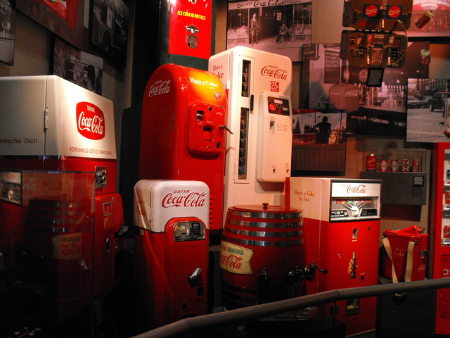 Now time for the Coca-Cola Musem