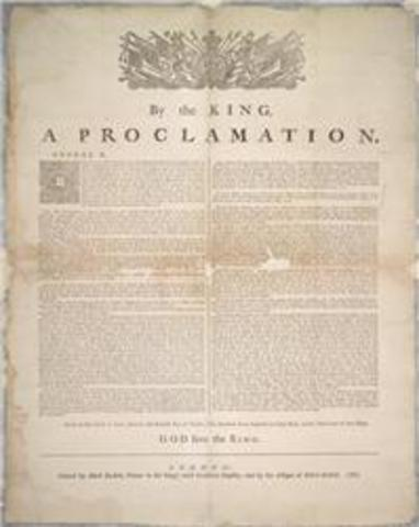 Proclamtation of 1763
