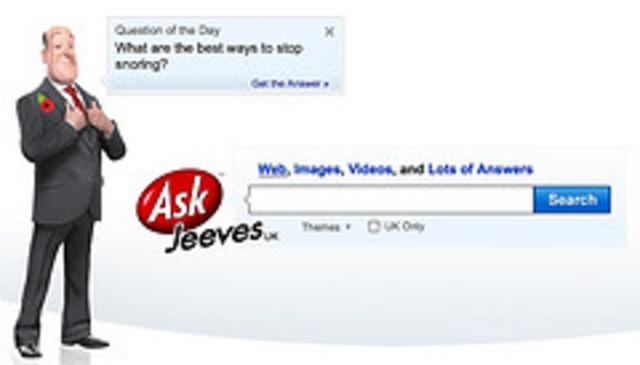 AskJeeves, now ask.com
